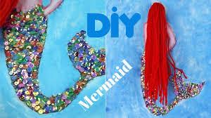 diy wall decor mermaid canvas art