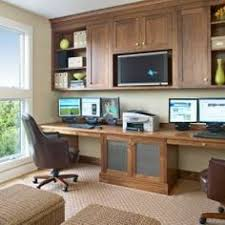 wall desks home office. Wall Desks Home Office. Length Desk \\u0026 Ceiling High Mounted Cabinets Above Area Office