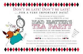 Kids Tea Party Invitation Wording 1st Birthday Tea Party Invitations Invitations Winter Invitations