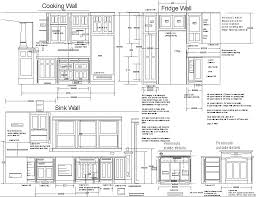 free design kitchen cabinet plans drawings cutting list sketch cooking wall fridge sink mounted decorations diy