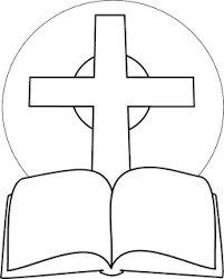 Small Picture Bible coloring pages of Praying handschild Jesuscrucifixion