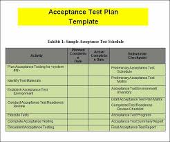 Test Summary Report Excel Template Unique Acceptance Test Report ...
