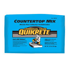 QUIKRETE Countertop 80-lb Gray High Strength Concrete Mix