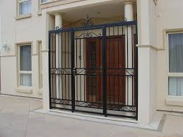 modern security screen doors. Metal Security Screen Doors For Modern Style Wrought Iron Pertaining To Sizing 1024 X 768 E