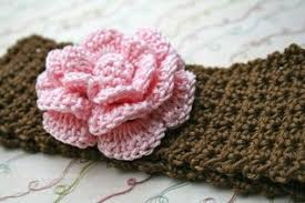 Crochet Flower Pattern For Headband Unique Baby Crochet Headband Pattern With Crochet Flower 48 Sizes Baby To