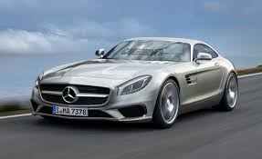2016 Mercedes-Benz GT AMG Rendered, Detailed – News – Car and Driver
