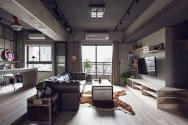 apartment architecture Complex Bachelors Apartment in Taiwan with an  Industrial Personality