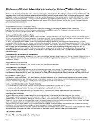 Verizon Costco Customer Letter