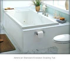 american standard soaking tub evolution bath 66 x 36