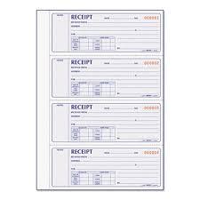 Rediform Money Receipt Book 2 3 4 X7 Carbonless Duplicate 400 Sets Red8l816