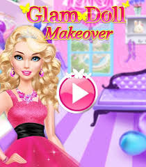 glam doll makeover chic spa