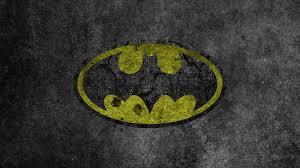 yellow batman logo wallpaper