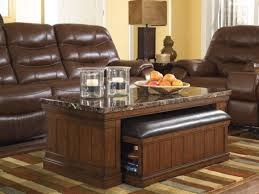extra small coffee table brown leather coffee table ottoman