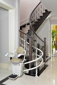 curved stair chair lift. StairFriend-1 Curved Stair Chair Lift I