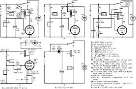 crystal photocell circuits 1957 radio television news five practical circuits using the clairex cl 2 crystal photocell rf cafe