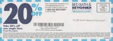 Bed Bath And Beyond Coupon In Store 2018