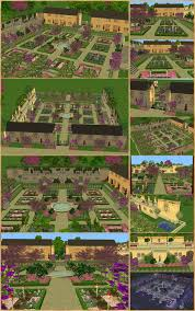 Terrace Kitchen Garden Mod The Sims Versailles Kings Kitchen Garden