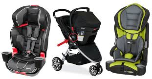 the evenflo evolve 3 in 1 child car seat from left the britax b agile stroller with go receiver and baby trend booster style child car seat are