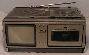 tv radio. hitachi tv-radio-casett-recorder tp-240 tv radio