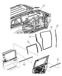 Chrysler town and country sliding door parts images