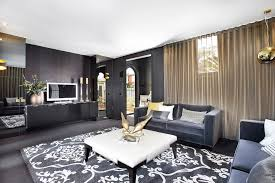 black carpet and grey sofas carpet vidalondon