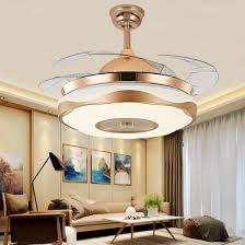 decorative invisible ceiling fan light