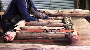 Pine Log Bedroom Furniture Rustic Log Bed Littlebranch Farm Youtube