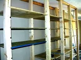 garage overhead storage ideas hanging full image for shelves wall racks rack diy storag