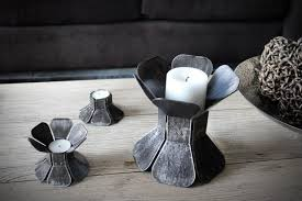 handmade contemporary candle holders  moco loco submissions