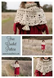 Free Crochet Patterns For Super Bulky Yarn Stunning Granny Square Capelet Free Crochet Pattern Crochet Pinterest