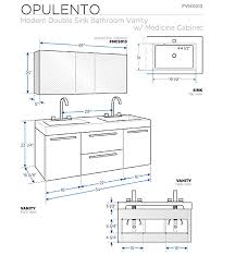 double vanity size standardsize guide base wall tall cabinet sizes standard kitchen cabinet
