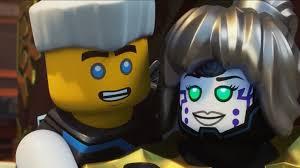 LEGO Bausteine & Bauzubehör NEW Lego Ninjago Female Pixal MINIFIG HEAD  White Red Green Eyes Robot Girl Smile classiccomforthvac.com