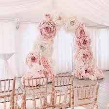 Paper Flower Archway 24 Beautiful Wedding Arch Ideas For Your Day Of Love