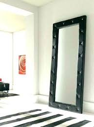 Wall Mirrors wall mirrors black Large Glass Bevelled Wall Mirror