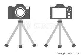 三脚とカメラのイラスト素材 31508974 Pixta