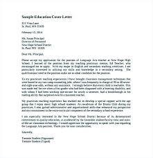 Cover Letter For New Teacher Sample Cover Letters For Resume New