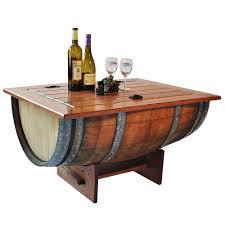 used wine barrel furniture image of wine barrel coffee table barrel office barrel middot
