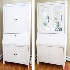 beautiful creation with o verlays khloe and ikea hemnes secretary desk and mirror