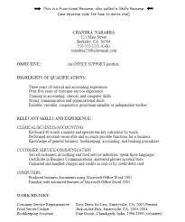 Functional Resume Template Customer Service Functional Resume