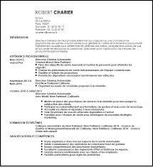 Resume Maker Professional Extraordinary Cv Constructeur Gratuitement Automobile Resume Maker Professional
