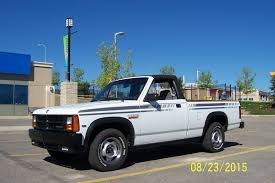 Convertible Pickup Survivor: 1990 Dodge Dakota