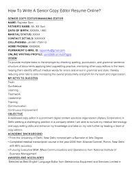 Math Editor Resume Sales Editor Lewesmr