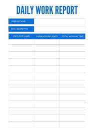 Work In Progress Excel Template Simple Daily Report Format Work Progress Template Excel Rhumb Co