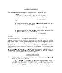 Distributor Agreement Template Free Uk Distribution Format Non
