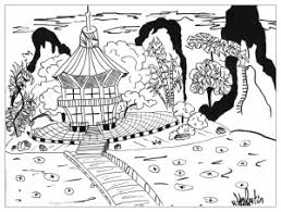Small Picture japanese drawing Japan Coloring pages for adults JustColor