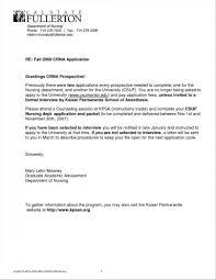 Sample Nursing Cover Letter For Resume Resume Cover Letter Example