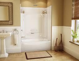 modern interior wall to bathroom chic bathtub with surround one piece 63 diy bathroom