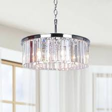 crystal drum chandelier west village 5 light crystal drum chandelier crystal chandelier with large drum shade crystal drum chandelier