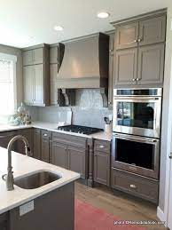 Remodelaholic 40 Beautiful Kitchens With Gray Kitchen Cabinets