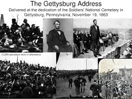 Image result for Gettysburg Address